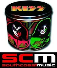 KISS GIFT TIN SET COFFEE MUG CUP & KEY RING OFFICIAL LICENSED PRODUCT IN BOX
