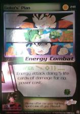 Limited GOKU'S PLAN Dragonball Z DBZ CCG Ultra Rare Free Shipping
