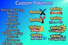 30 Custom Pokémon Shiny Bundle 6IV-EV Pokémon XY/ORAS/SM/USUM Pokémon Home