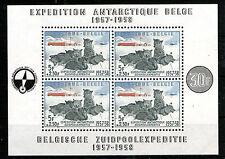 Belgium 1957 antarctic expedition MNH MS SC# B605