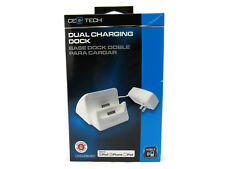 CE TECH 3.1 Amp Detachable Wall Dual Charging Dock Iphone Ipad Ipod White New