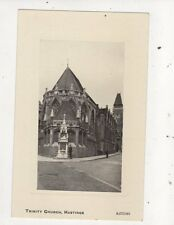 Trinity Church Hastings Vintage Postcard 750a