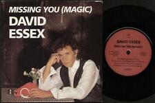 """DAVID ESSEX Missing You (Magic)  7"""" Ps, B/W Forever And A Day, Lamp 7 (Ex-/Ex-)"""