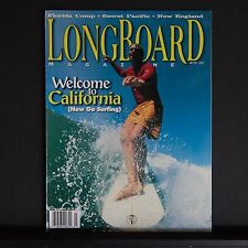 Longboard Magazine 5-3 New England.Florida.Secret Pacific.Billy Al Bengston.Ca