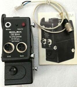 Bolex EM Motor für H16 Cameras mit Bedienungsanleitung