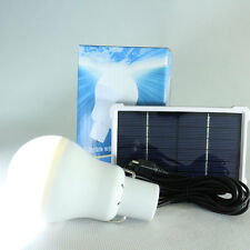 15W 150LM Portable Solar Energy Panel Lighting System Camping Bulbs Lamp F7