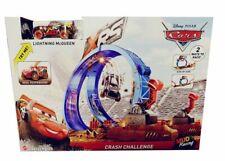 Disney Cars - XRS Extrem-Rennbahn mit Modellfahrzeug McQueen für Kinder 35cm NEU