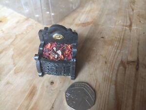 dolls house accessories Fire Grate,4.7cm High.