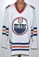Size L adult NHL Edmonton Oilers ice hockey shirt jersey Starter