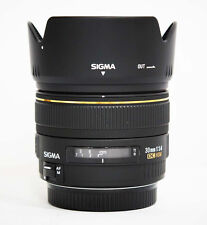 Used Sigma EX 30mm f/1.4 DC EX HSM Lens for Canon