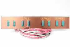 Custom ELCO Patch Bay Panel 8x 56-Pin ELCO w/ 20Ft. Snake Cables (Unterminated)