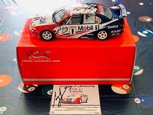Biante 1:18 1999 Craig Lowndes Signed HRT ATCC Winner Holden VT Commodore