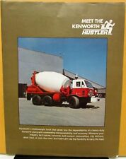 1973 Kenworth Truck Model Hustler Mixer Sales Folder