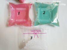 50 Tray &bag for mooncake RANDOM COLOR - khay & tui dan banh trung thu 125-150G