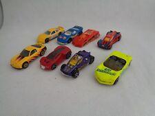 Diecast car toy matchbox hotwheels Mazda Rx-7 Corvette Spiderman EXC - Set of 8