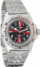 Vostok Amphibian 110650 Automatic Wristwatch Wr 200 Fast delivery from Usa