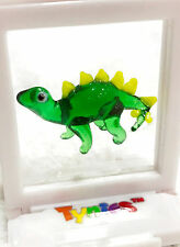 JAKE Green Dinosaur TYNIES Tiny Glass Figure Figurine Collectibles 0166 NEW
