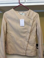 Frnch Tan Pu Leather Small Long Sleeve Jacket Nwt nw