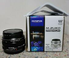 Olympus M.Zuiko 17mm F/1.8 AF Lens for Four Thirds