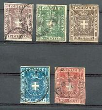 ITAL TOSCANA 1860 17-21 gest SCHÖN 1140€(E0069