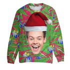 Harry Styles Ugly Christmas Sweater Funny Gift