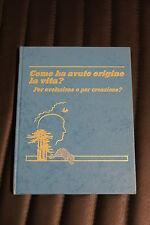 Come ha avuto origine la vita? - Edizione 1985 - scienze