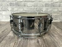 "Sonor Force 507 14"" x 5.5"" Steel Shell 8 Lug Snare Drum  / Hardware #SN146"