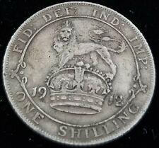 United Kingdom England 1 Shilling 1912 92.5% Silver