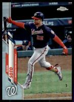 2020 Topps Chrome Base Variation #12 Juan Soto - Washington Nationals