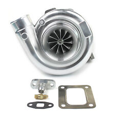 Billet Compresso Wheel T72 Dual Ceramic Ball Bearing Turbo Charger T4 Flange