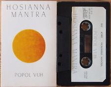 POPOL VUH - HOSIANNA MANTRA (CEL 004) 1981 CASSETTE TAPE KRAUTROCK HERZOG