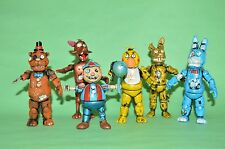 TOY MEXICAN FIGURE FIVE NIGHTS AT FREDDY'S ANIMATRONICS ACTION FIGURA 4 INCHES+
