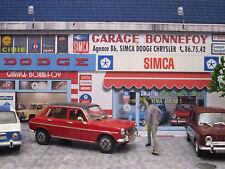 "Diorama 1/43 ""GARAGE SIMCA BONNEFOY"" (diorama pour la rue) ...OFFRE!!"