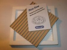 NIB Delonghi Pizza Stone Rectangular Refractory Clay Tile 551930