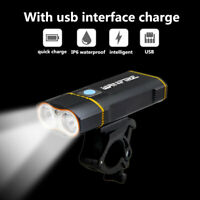 Bicycle USB Rechargeable Headlamp 6000 Lumens LED Bike Front Light Headlight New