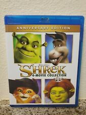 Shrek: 4 - Movie Collection (Blu-Ray + Slipcover)