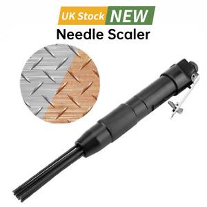 12 Pin Needle Scaler Pneumatic Air Gun Pistol Air Tool Rust Remove Deburring