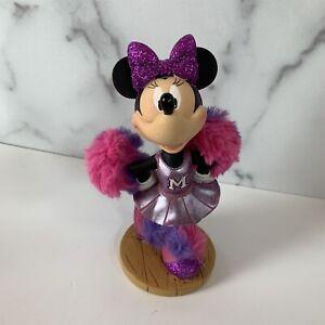 Walt Disney Parks Minnie Mouse Bobble Head Cheerleader Original Disney ER2