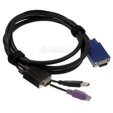 UNICLASS KVM-Kabel VGA - VGA-PS/2-USB 1,8m - CAB-2067-1.8M