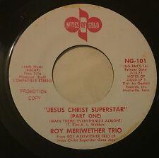 ROY MERRIWEATHER TRIO Jesus Christ Superstar 45 Notes Of Gold funk jazz wlp