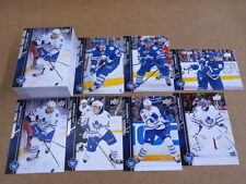 2015/16 Upper Deck SERIES 2 TORONTO MAPLE LEAFS 8 COMPLETE TEAM SETS 7 CARDS PER