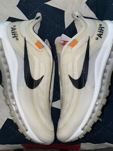 "Nike Air Max 97 x Off-White Size 8 ""The Ten"""
