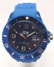 Ice-Watch Men's SI.BE.B.S.09 Sili Collection Plastic Watch SOLD AS IS FOR PARTS!