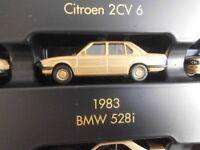 Herpa 1983 BMW 528i in oro metallizzato 1:87  NUOVO  FONDO DI MAGAZZINO