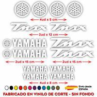 PEGATINA VINILO ADHESIVO YAMAHA MOTO TMAX STICKER DECAL KIT DE 14 UDS T MAX