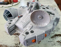 Star Wars Millennium Falcon Playset (2011) Hasbro Complete w Cannons & Satellite