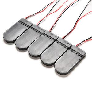 5X DIY CR2032 3V Knopf-Zellen-Batterie-Halter-Kasten mit Schalter W ZG ML