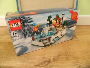 Lego Seasonal Set – 40416 Ice Skating Rink – Limited Edition Set 2021
