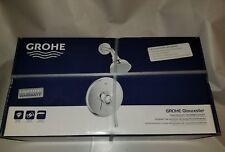 GROHE Gloucester Chrome Single Handle  WaterSense Shower Faucet Dream Spray