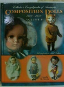 NEW BOOK Composition Dolls Price Guide COLLECTOR'S BOOK includes Marionettes